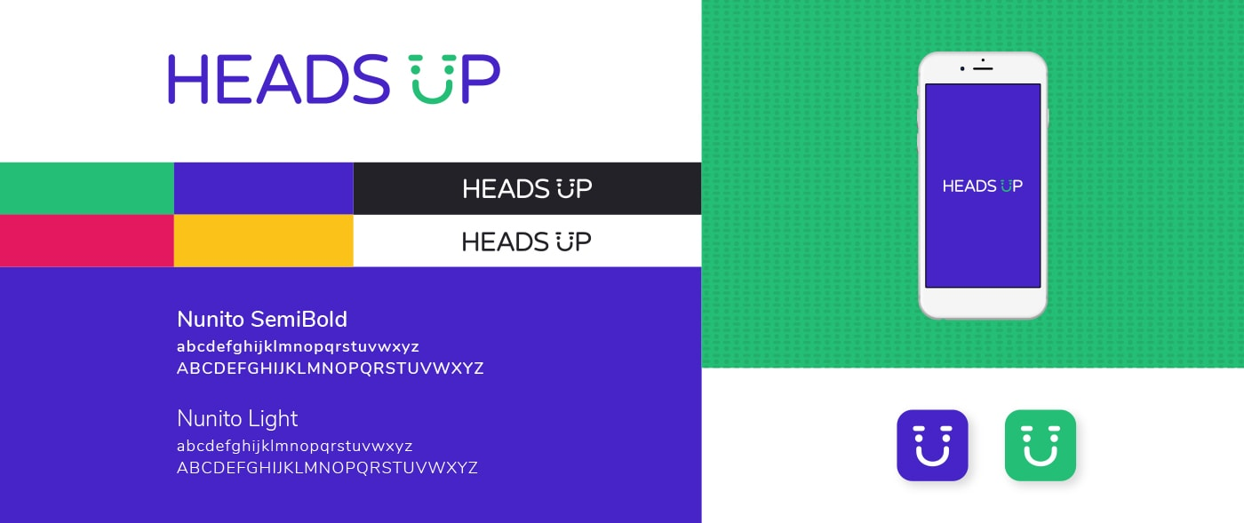 Heads Up Brand Board