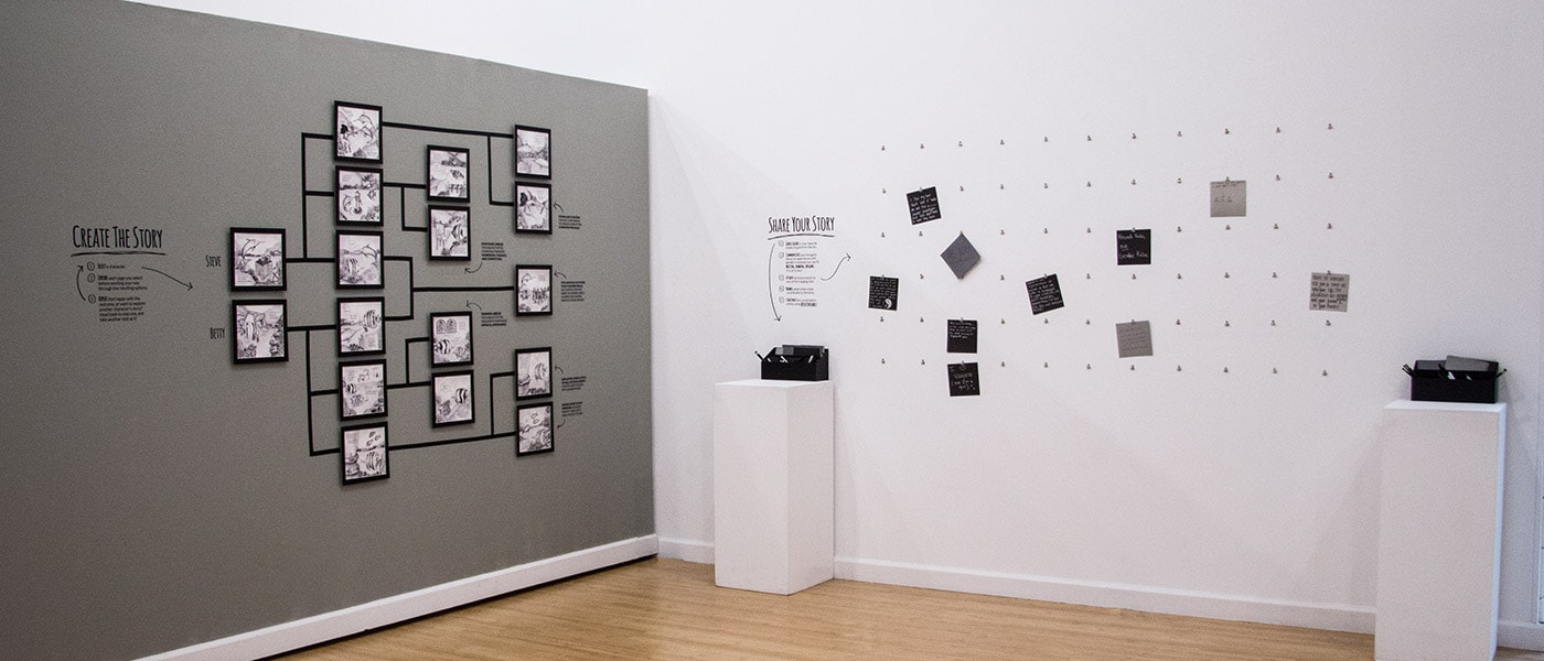 Lose the Labels Social Campaign Gallery Installation by Chelsea Studenski